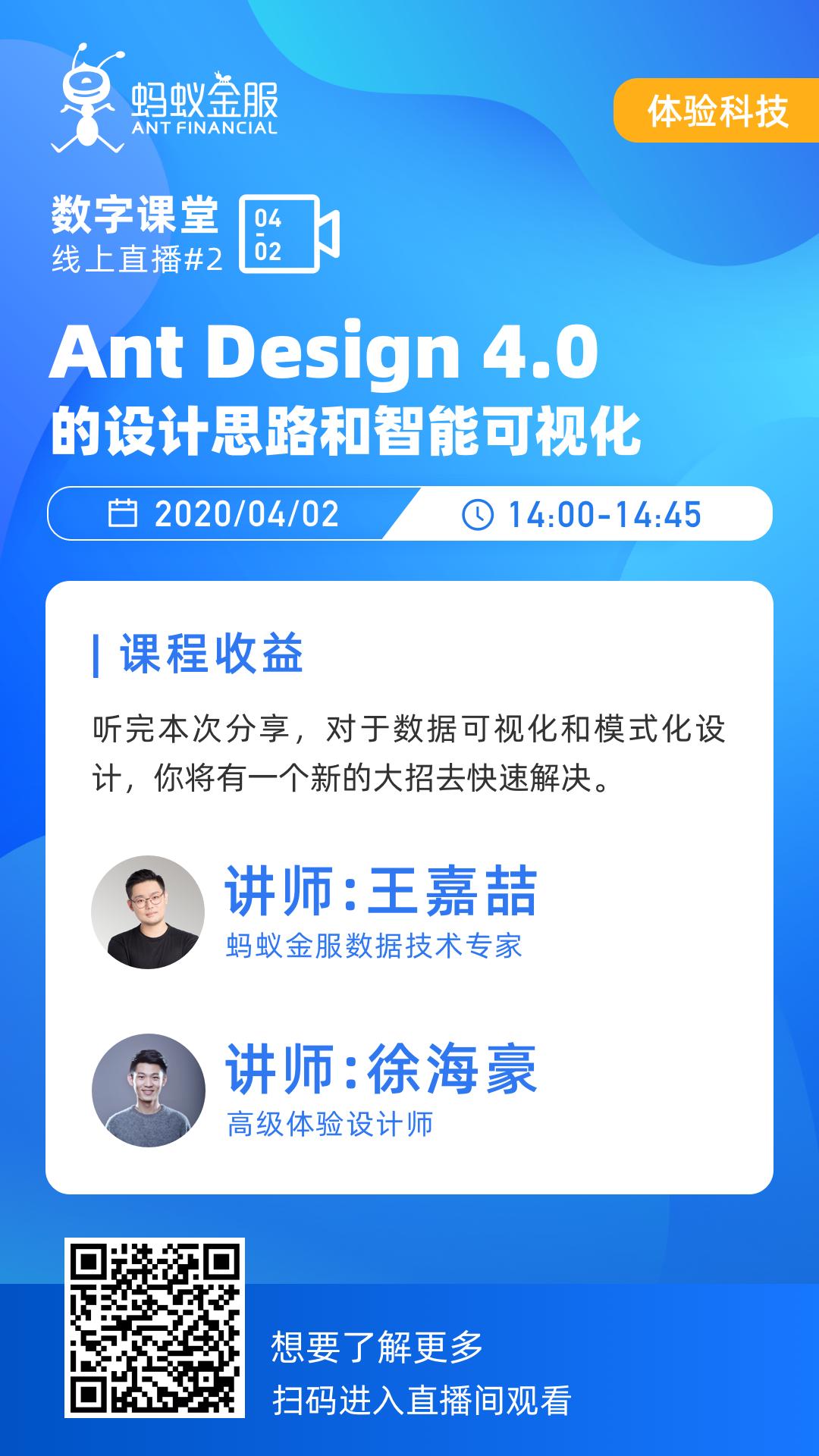 创造快乐工作的Ant Design 4.0